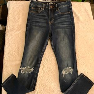 Hollister 3S W26 L28 High-Rise Super Skinny Jeans